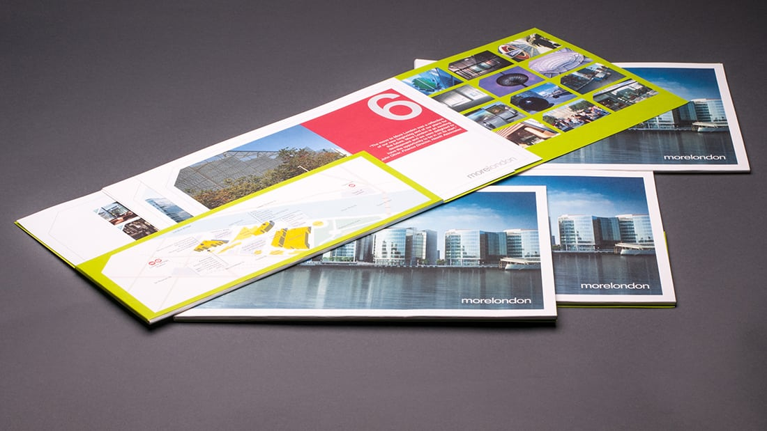 wag design - More London - brochure