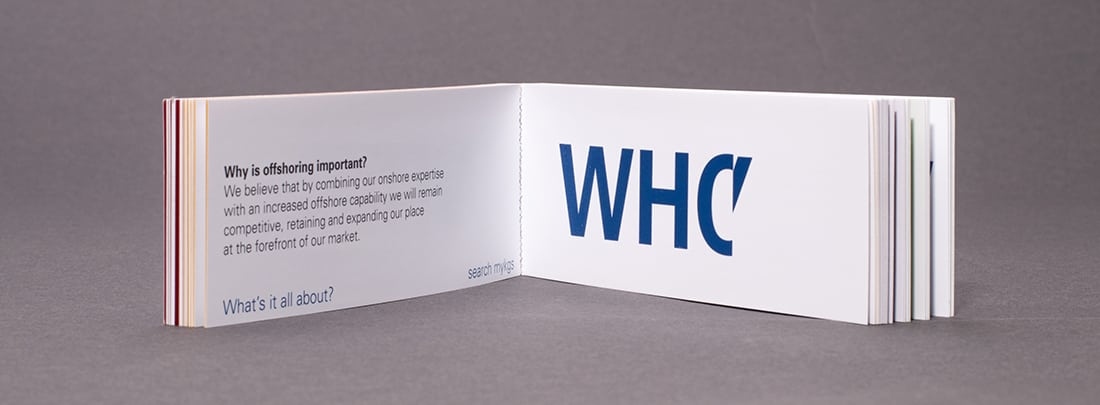 wag design - brand communication - flick book - kpmg