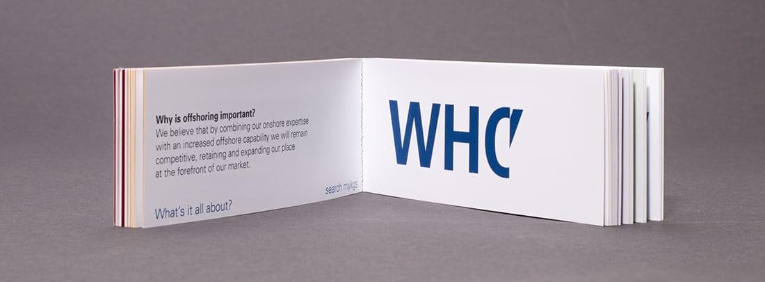 wag design - brand communication - flick book - kpmg