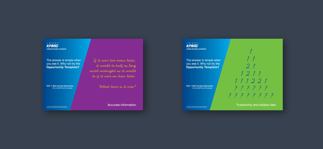 wag design - brand communication - slider 2 - kpmg